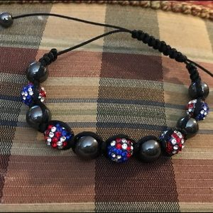🇺🇸3 for $10🗽 Belleza macrame and Swarovski